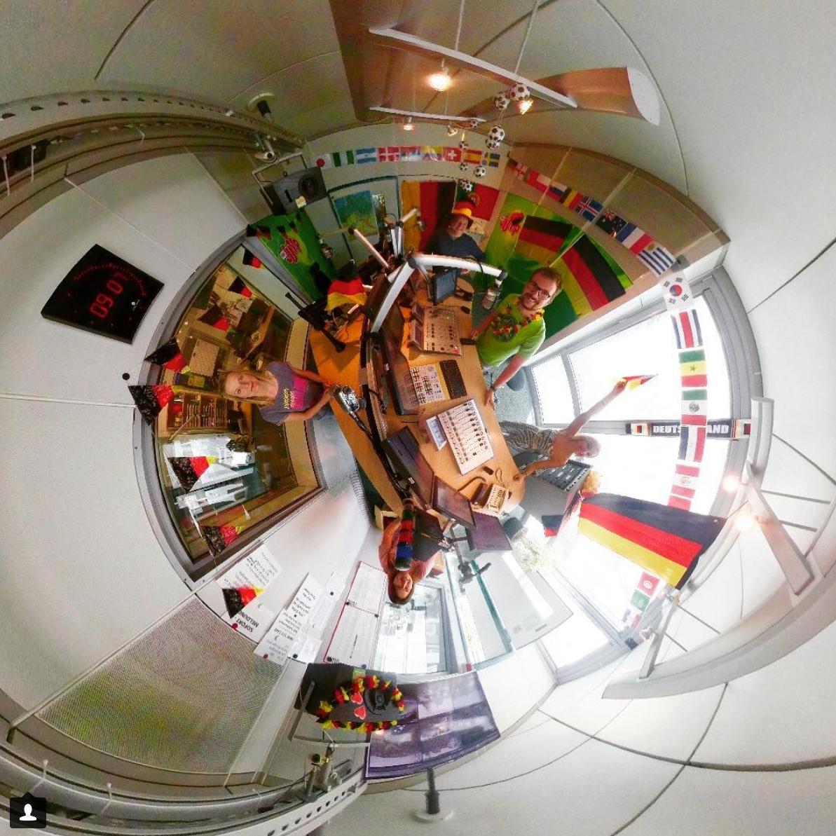 Fabian Hamm 360 Grad Studio Radio